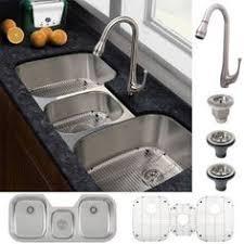 Kitchen Sink Faucet Combo Vigo All In One 30 Inch Stainless Steel Undermount Kitchen Sink