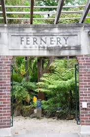 pictures of new zealand entrance to the fernz fernery winter