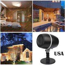 outdoor moving projector laser led garden christmas light stage