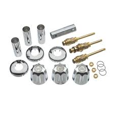 tub shower 3 handle remodeling kit for gerber in chrome danco