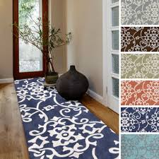 Entrance Runner Rugs Strikingly Blue Rug Runners For Hallways Fetching Attractive