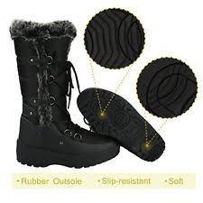 womens size 12 waterproof boots waterproof boots winter slip resistant rubber sole