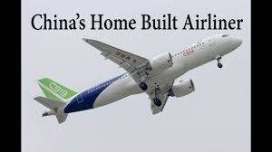 first airplane ever made c919 first ever touchdown china made c919 landing video youtube