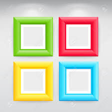 unthinkable colorful picture frames amazon com wallies wall decals trendy inspiration ideas colorful picture frames gallery interior with empty on wall royalty free