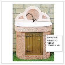 lavelli esterno lavabo da esterno cervino aq5000 r lavandini da esterno