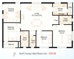 3 bedroom house plans for north facing u2013 home plans ideas