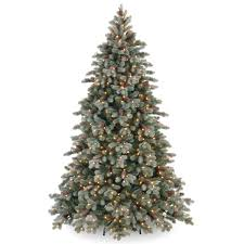 7 foot pe pvc frosted colorado spruce tree pvc tree