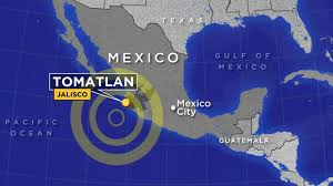 Jalisco Mexico Map Magnitude 6 6 Earthquake Hits Off Jalisco Mexico Coast Abc7 Com