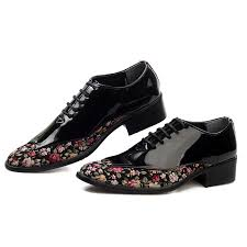 wedding shoes for men cheap japanned leather fashion mens wedding shoes flower