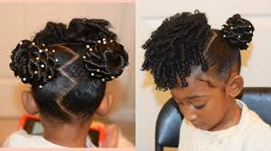 kids natural hairstyles the buns and curls youtube