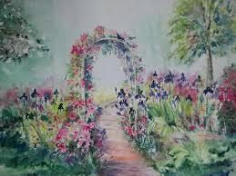 garden trellis c ploetner creations florals landscapes