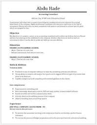 Consulting Resume Template Accounting Consultant Resume Free Accounting Consultant Resume