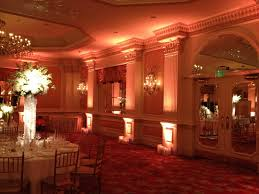 uplighting for weddings uplighting in warm colors arielle reception and