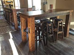 Barn Wood Dining Room Table Pub Table Gas Pipe Barn Wood Barn Beam My Work Pinterest