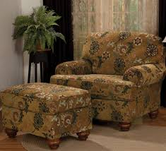 living room chairs and ottomans exterior impressive brown flowers chairs and ottoman set