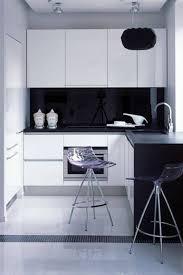 best modern kitchen design in black and white decor 1833
