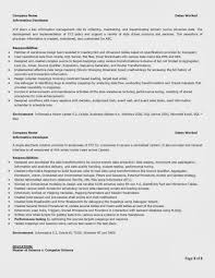 Sample Java Developer Resume by Ssrs Developer Resume Free Resume Example And Writing Download