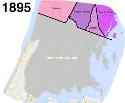 Yonkers New York Map by How The Bronx U0027s Uneven Border With Westchester Came To Be Curbed Ny