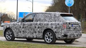 2019 rolls royce cullinan suv spied looking sumptuous