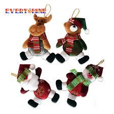 5pcs lot new gifts tree hanging ornaments santa claus