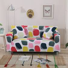 housse universelle canapé polyester coloré grille universelle extensible meubles couvre multi