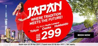 airasia singapore promo airasia japan promotion kuala lumpur to tokyo osaka hokkaido