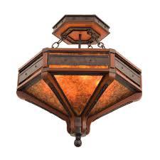 ring semi flush ceiling light