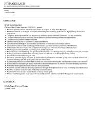 sales associate resume exles sales associate resume sle velvet