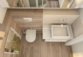 badezimmer klein foto oben genommen kleines bad einrichten schöne badewanne