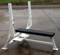 Weight Bench With Spotter Power Olympic Bench Press With Spotter
