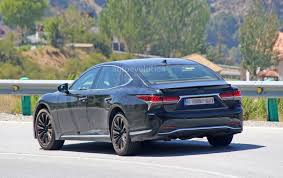 spyshots 2019 lexus ls f spotted could pack twin turbo v8