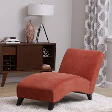 livingroom chaise orange paprika chaise lounge free shipping today