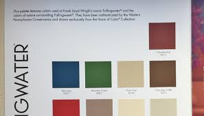 wright colors cherokee red painting the delbert meier house