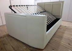 Ottoman Tv Bed Imedia White Grey With Storage 3ft Single Tv Bed Free Delivery