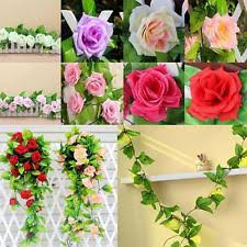 Wedding Garden Decor Ivy Rose Garland Ebay