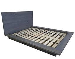 Low Profile Platform Bed Frame Low Profile Bed Etsy