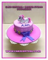 Blue Gift Box Cake By Cake Central Premier Cake Design Studio