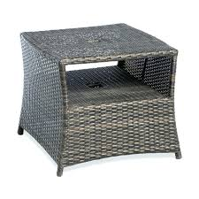 Patio Table Size Side Table Small Outdoor Side Table Two Tier In Patio Tables