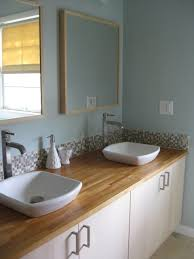 Using Kitchen Cabinets For Bathroom Vanity Mesmerizing Attractive Using Ikea Kitchen Cabinets In Bathroom 11