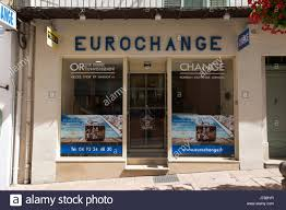 bureau de change antibes eurochange stock photos eurochange stock images alamy
