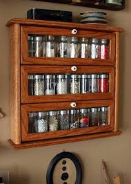 Kitchen Rack Designs by Glass Door Cabinet Spice Rack Kitchen Ideas Spice Rack Kitchen