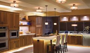Led Lighting For Kitchen Cabinets Kitchen Awesome Led Kitchen Lighting For Modern Gray Kitchen