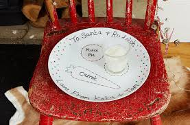 santa plate goodtoknow