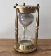 Herman Miller Clock Brass Maritime Nautical Ship Hourglass 9