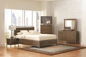 bedroom simple wood and metal bedroom sets style home design