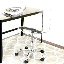 Acrylic Desk Chair Clear Office Chair Clear Acrylic Office Chair
