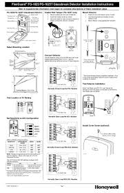 honeywell fg 1625 install guide