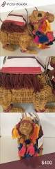 kate spade spice things up camel wicker bag nwt