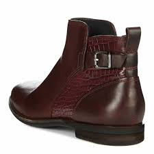 ugg womens demi boot cordovan leather demi croc ankle boots brandalley