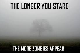 Funny Zombie Memes - stare zombies know your meme